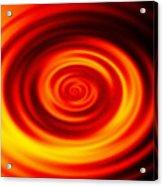 Swirled Sunrise Acrylic Print