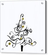 Swirled Tree Acrylic Print
