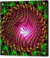 Swirledya-neonaya Catus 1 No. 1 H B Acrylic Print