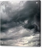 Swirling Clouds Acrylic Print