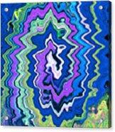 Swirling Wave Acrylic Print