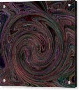 Swirlpool Neon Acrylic Print