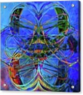 Swirls Abstract Acrylic Print