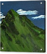 Swiss Alp Acrylic Print
