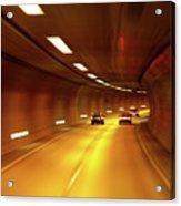 Swiss Alpine Tunnel Acrylic Print