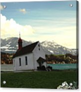 Swiss Hope Acrylic Print