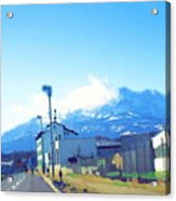 Swiss Road Acrylic Print