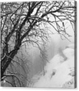 Swiss  Snow Fall Acrylic Print