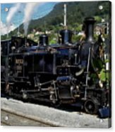Swiss Steam Locomotive Acrylic Print