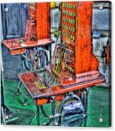 Switchers Acrylic Print