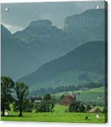 Switzerland Countryside Acrylic Print