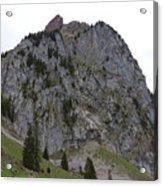 Switzerland. Large Mythen Acrylic Print