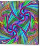Swivel Art Acrylic Print