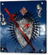 Sword And Shield Acrylic Print
