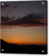 Pennsylvania Sunset In Haltzon Acrylic Print