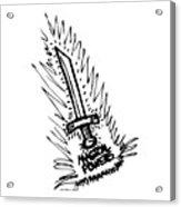 Sword With Magical Powers Acrylic Print