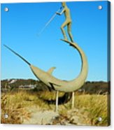 Swordfish Harpooner Acrylic Print