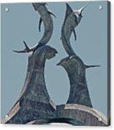 Swordfish Sculpture Acrylic Print
