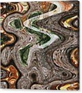 Sycamore Tree Abstract # 9283 Acrylic Print
