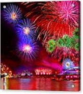 Sydney Celebrates Acrylic Print