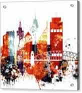 Sydney Cityscape Acrylic Print