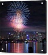 Sydney Fireworks Acrylic Print