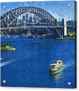 Sydney Harbor Bridge Acrylic Print