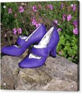 Syd's New Shoes Acrylic Print