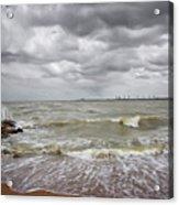 Sylvan Park Beach Acrylic Print