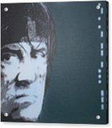 Sylvester Stallone Acrylic Print