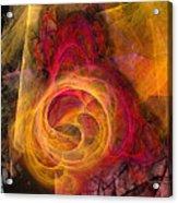Symbiosis Abstract Art Acrylic Print
