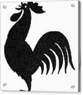 Symbol: Announcement Acrylic Print