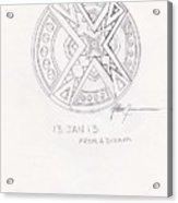 Symbol Finished Acrylic Print