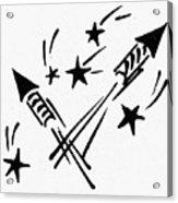 Symbol: Independence Day Acrylic Print