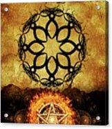 Symbols Of The Occult Acrylic Print