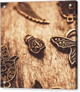 Symbols Of Zen Acrylic Print