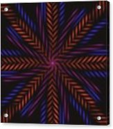 Symmetry 15 Acrylic Print