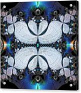 Symmetry In Circuitry Acrylic Print
