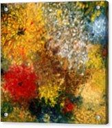 Symphonie De Fleurs Acrylic Print