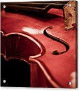 Symphony Of Strings Acrylic Print
