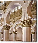 Synagogue Of St Mary The White Acrylic Print