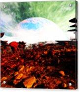 Syn's Moon Acrylic Print
