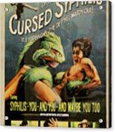 Syphilis Poster Acrylic Print