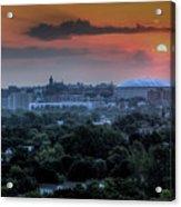 Syracuse Sunrise Acrylic Print