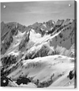 T-404403 Winter View North Cascades Acrylic Print