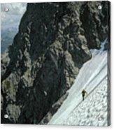 T-504102 1st Ascent On Mt. Shuksan Acrylic Print