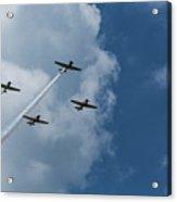 T-6 Texan Airplane Squad 1 Acrylic Print