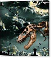 T-rex Graveyard Acrylic Print