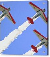 T6 Aerobatics Acrylic Print
