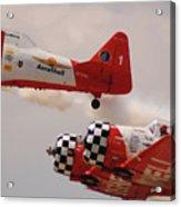T6 Aerobatics II Acrylic Print